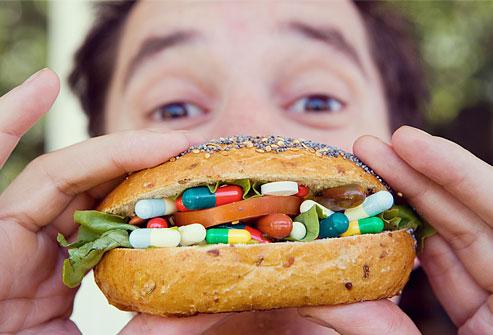 足りない栄養素はサプリメントから